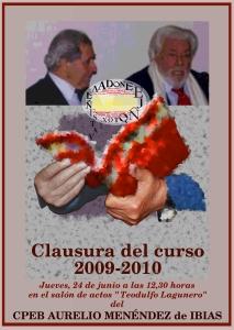 Clausura del curso 2009/2010